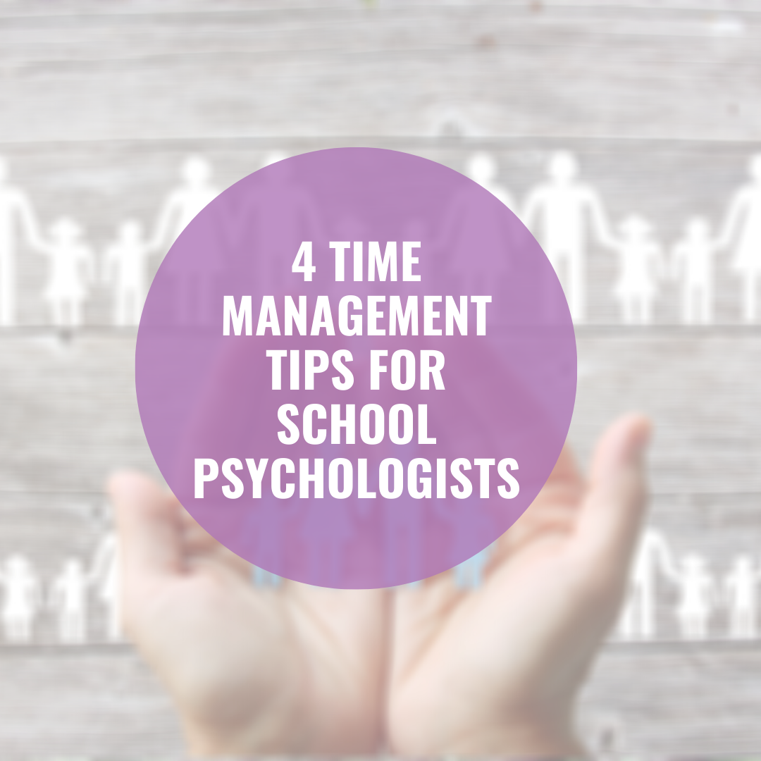 time management tips for school psychologists