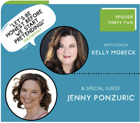 Jenny Ponzuric's Interview on Let's Be Honest Before We Start Pretending! The Podcast