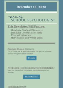 newer school psych newsletter