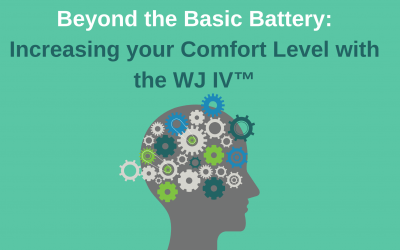 Beyond the Basic Battery: Increasing your Comfort Level with the WJ IV